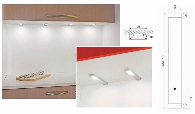 Foco led cocina bajo mueble tu cocina y ba o for Focos led para cocina