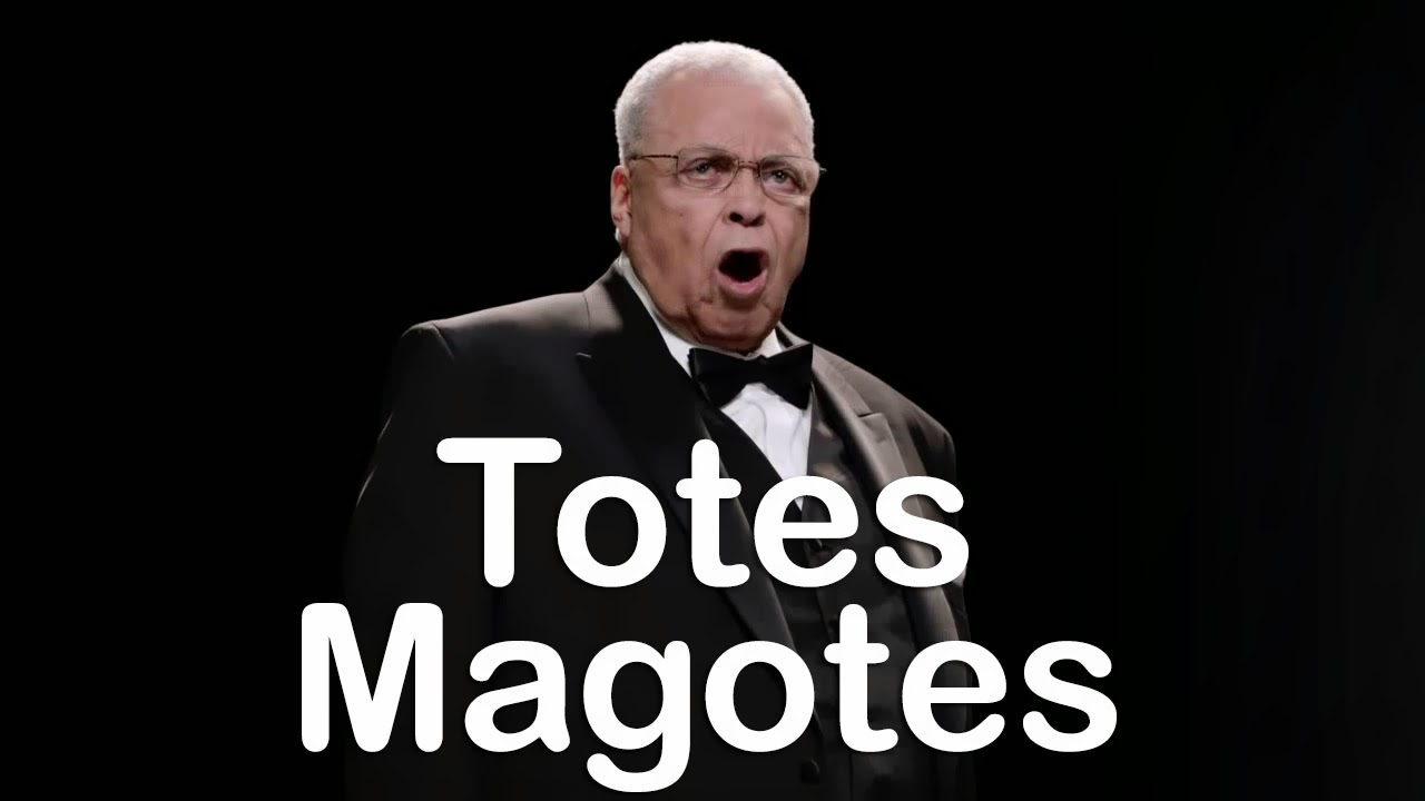 20131215 james earl jones totes magotes 529 lovin' the alien how to torture your teen, totes magotes