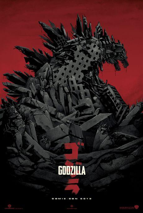 Godzilla por  Gareth Edwards