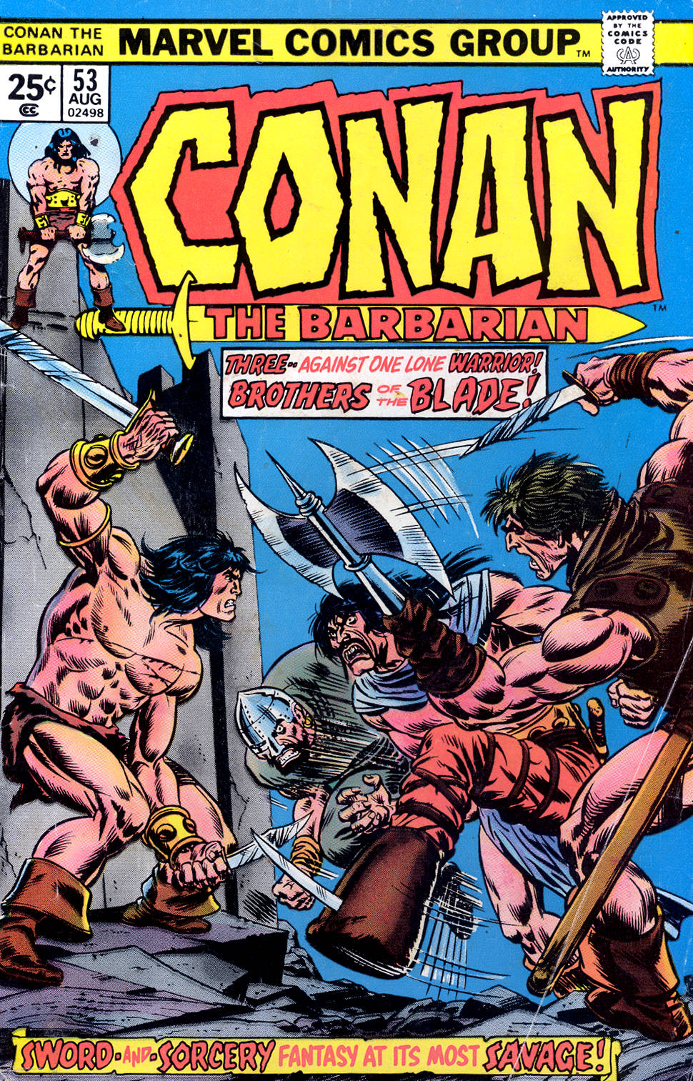 Conan the Barbarian (1970) 53 Page 1
