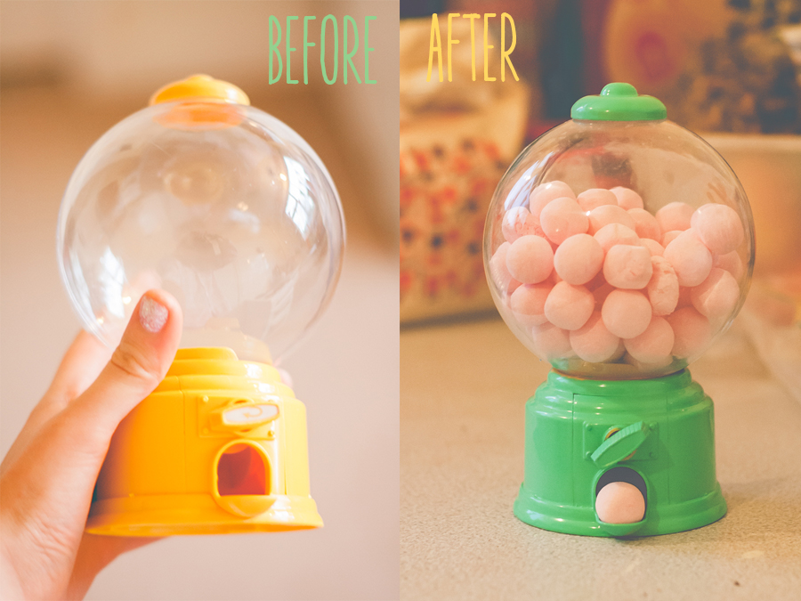 DIY Little Sweetshop from Tiger, Before and After