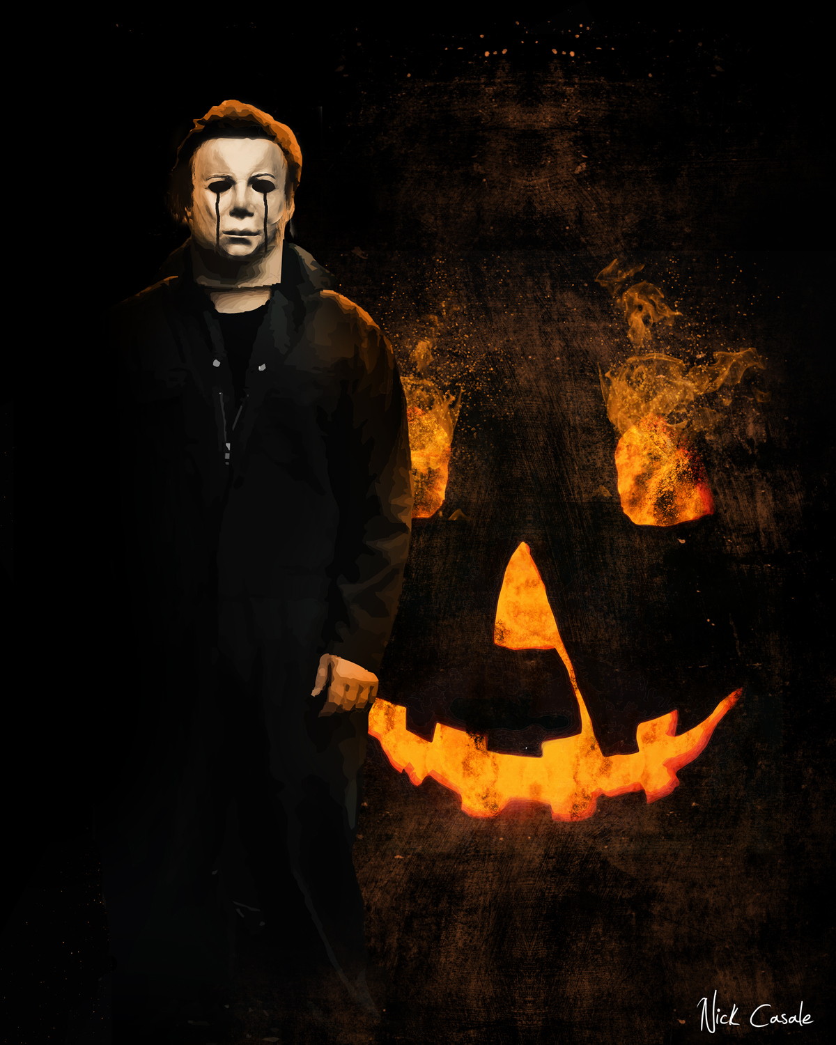 The Horrors of Halloween: HALLOWEEN MICHAEL MYERS Art Prints by ...
