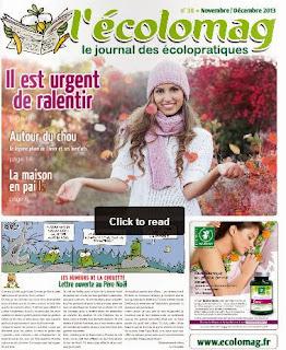 L'Ecolomag, le journal des écolopratiques