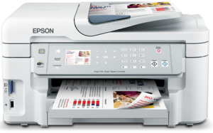 Epson WorkForce WF-3521 Printer Driver Download