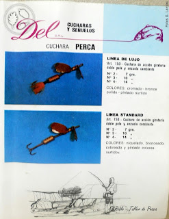 el roble taller de pesca señuelos del argentina del argentinian fishing lures