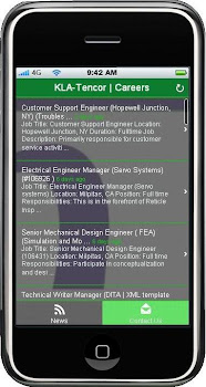 KLA-Tencor | Careers (Mobile Web App)