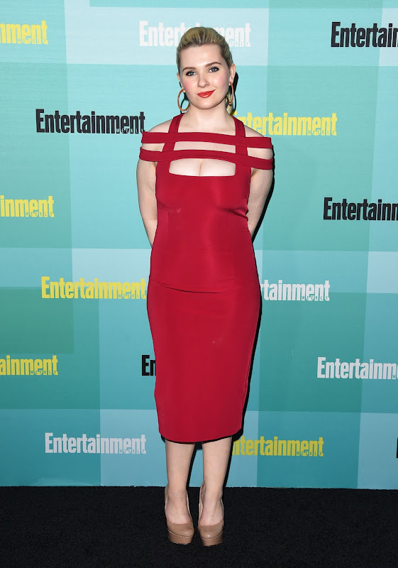 Photo: Abigail Breslin chan of the San Diego Comic Con!