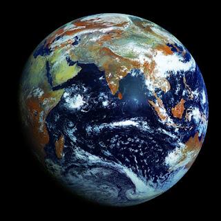 כדור הארץ מהלווין הרוסי אלקטרו