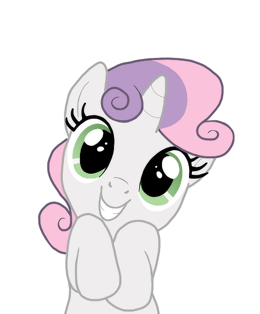 I can't vector graphics, but I love Sweetie Belle