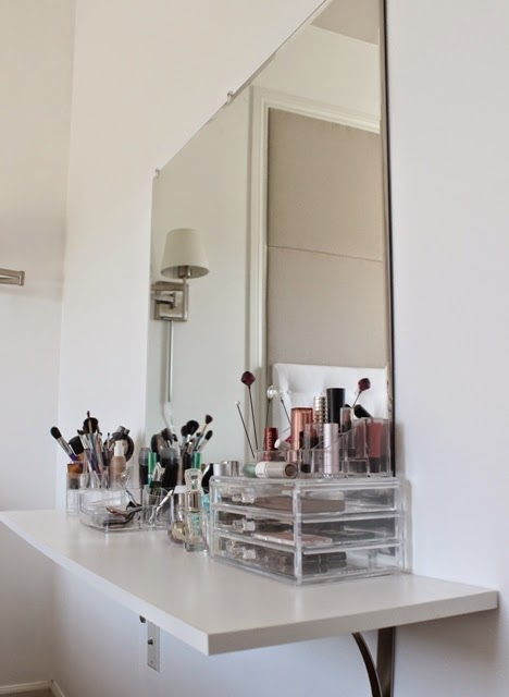 Littlesmorningscom Diy Makeup Station 1000 Images