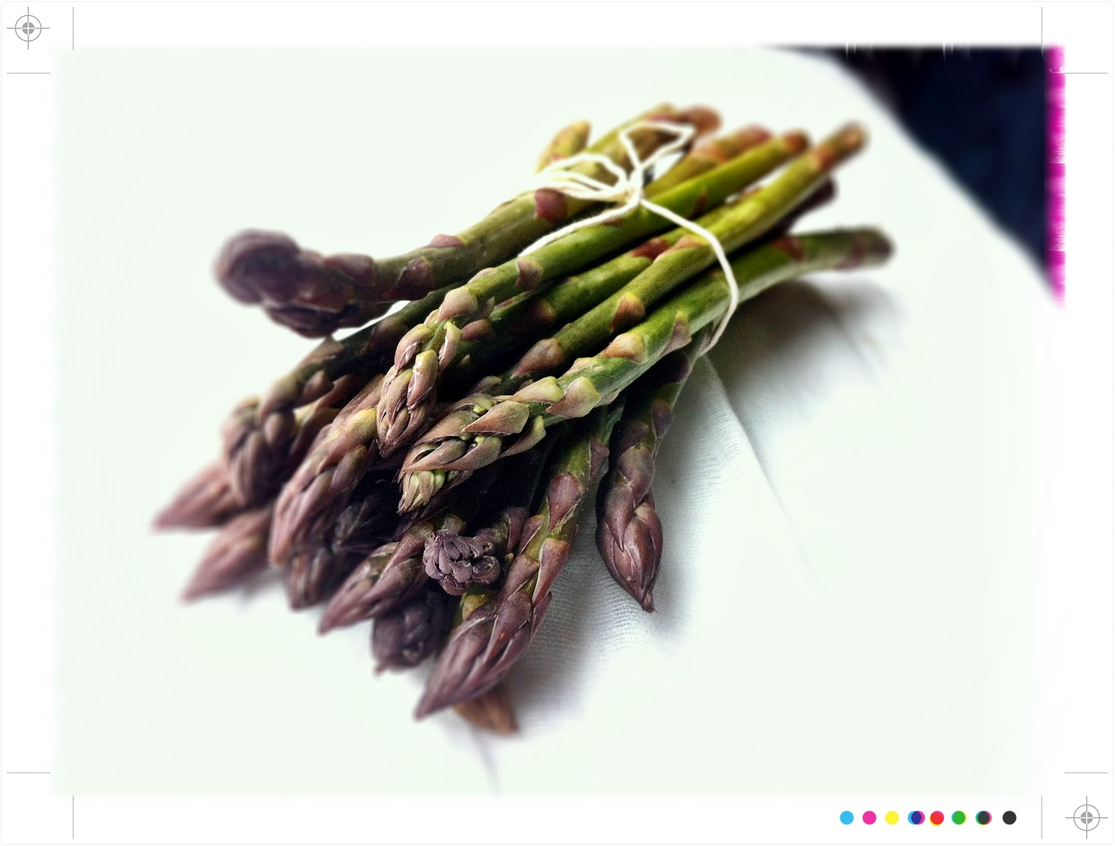 Asparagus Mimosa, from Ottolenghi's Plenty
