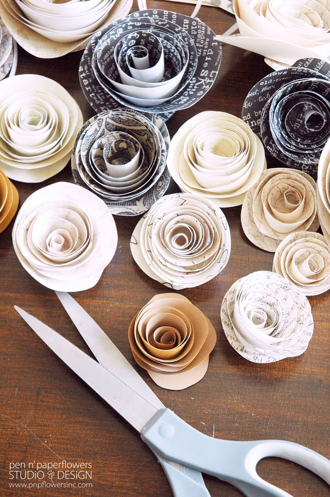 pen n 39 paper flowers share diy paper flowers snap creativity