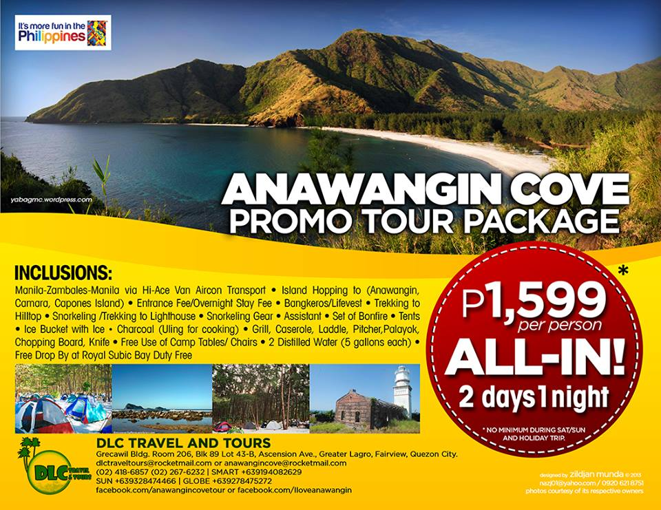 Anawangin Promo Tour Package 2 Days and 1 Night