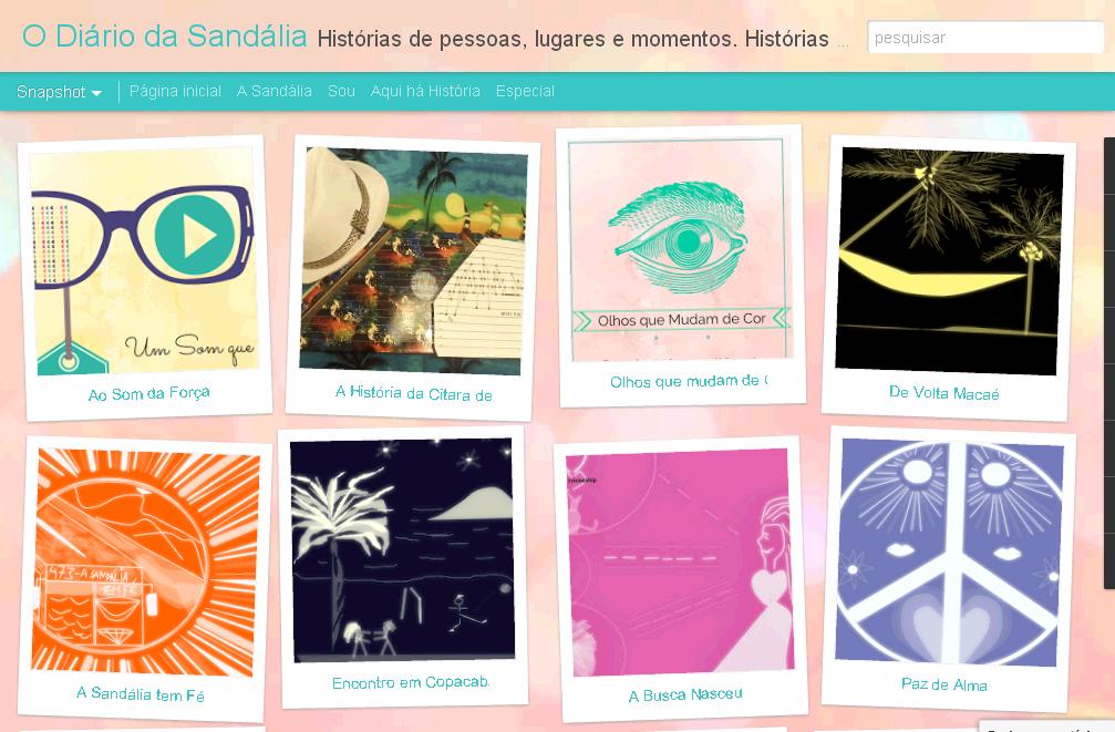 Blog - O Diário da Sandália