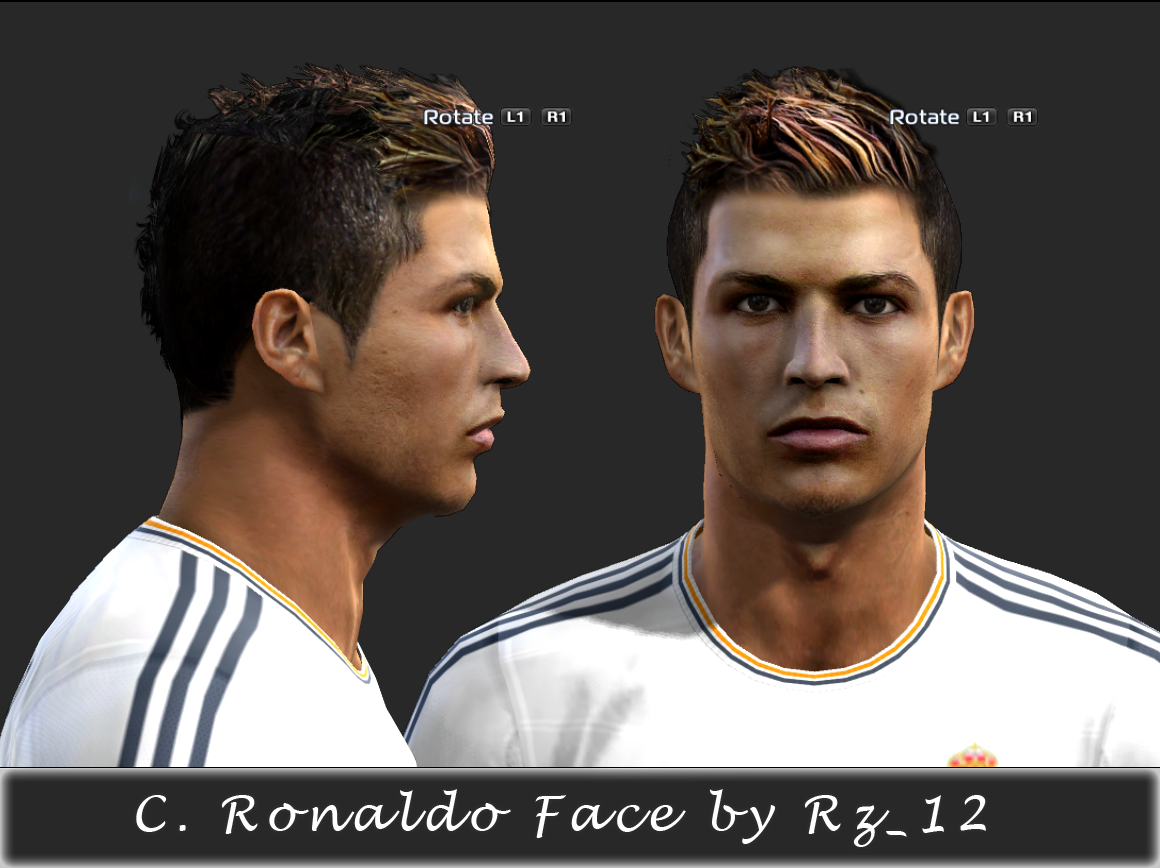 Pes 2013 C.Ronaldo - Real Madrid By Ilhan and Rz_12 ~ Wave Pes
