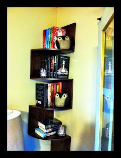 My corner bookshelf
