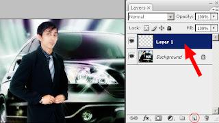 Cara Menambah Layer Baru di-Photoshop