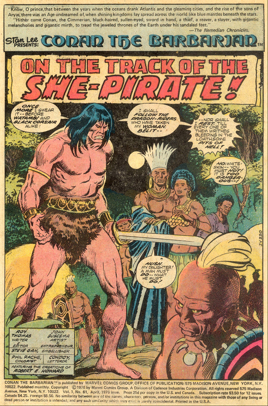 Conan the Barbarian (1970) Issue #61 #73 - English 2