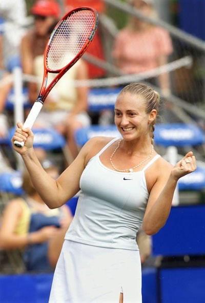 Busty tennis player female impregnation yeah