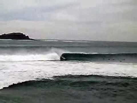Circuito Vasco surf de Mundaka - Natxo Gonzalez y Leti Canales vencedor s - 21 Diciembre 2013