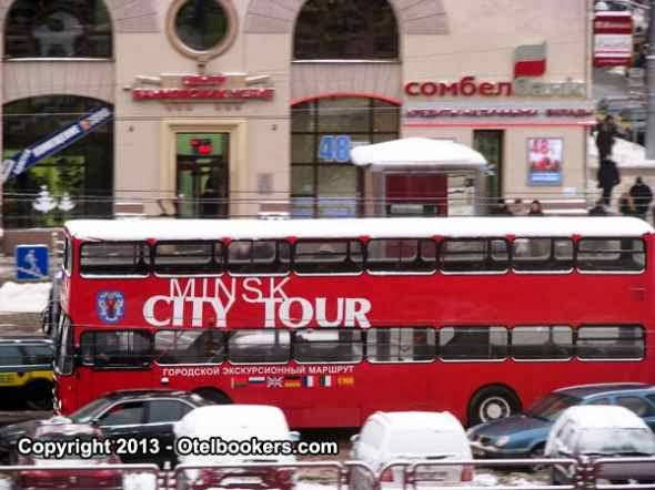Minsk City Tour Bus