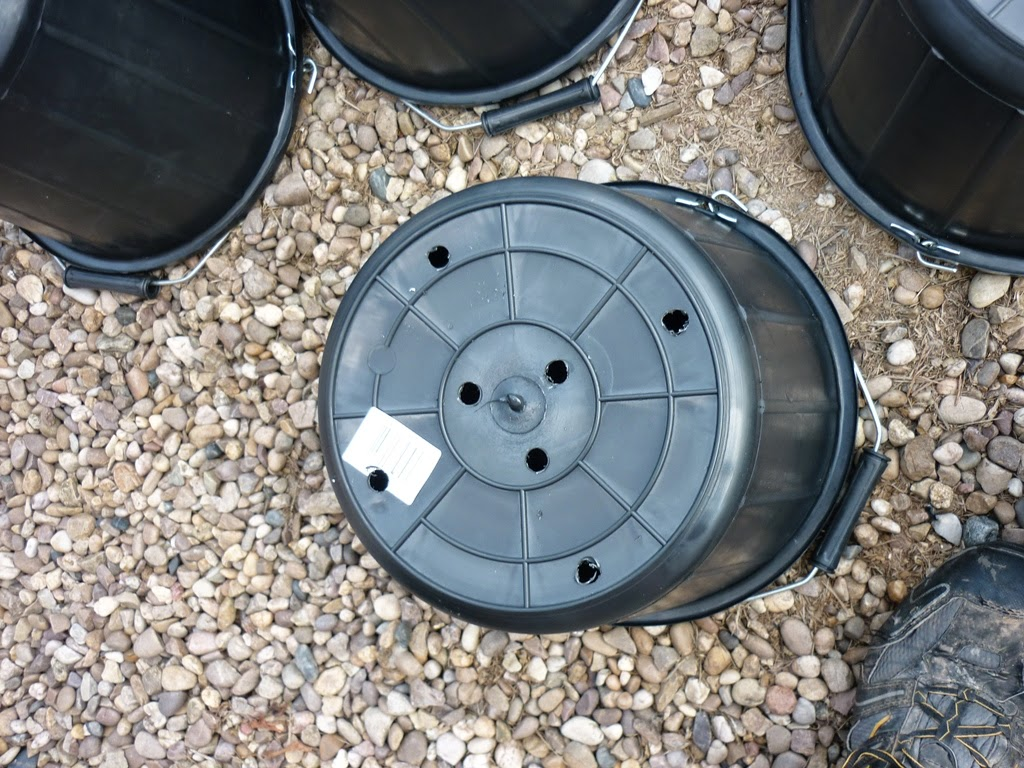 Drainage Holes Drilled