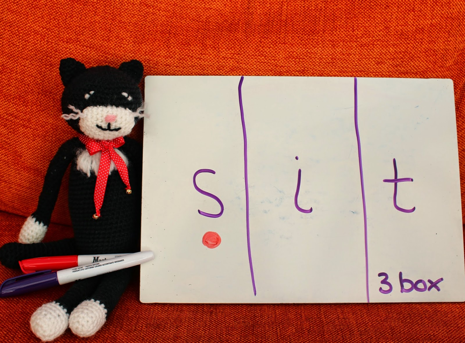 Phonics for Fidgets with Felix: Phoneme frames