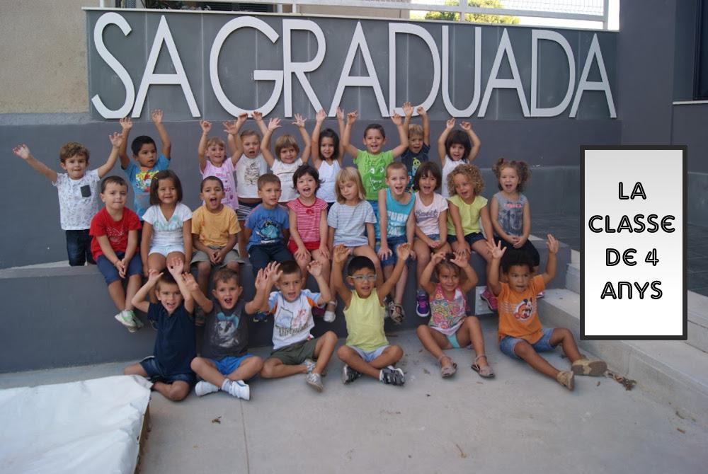 La classe de 4 anys
