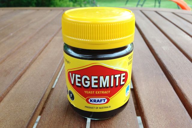Vegemite is vegan
