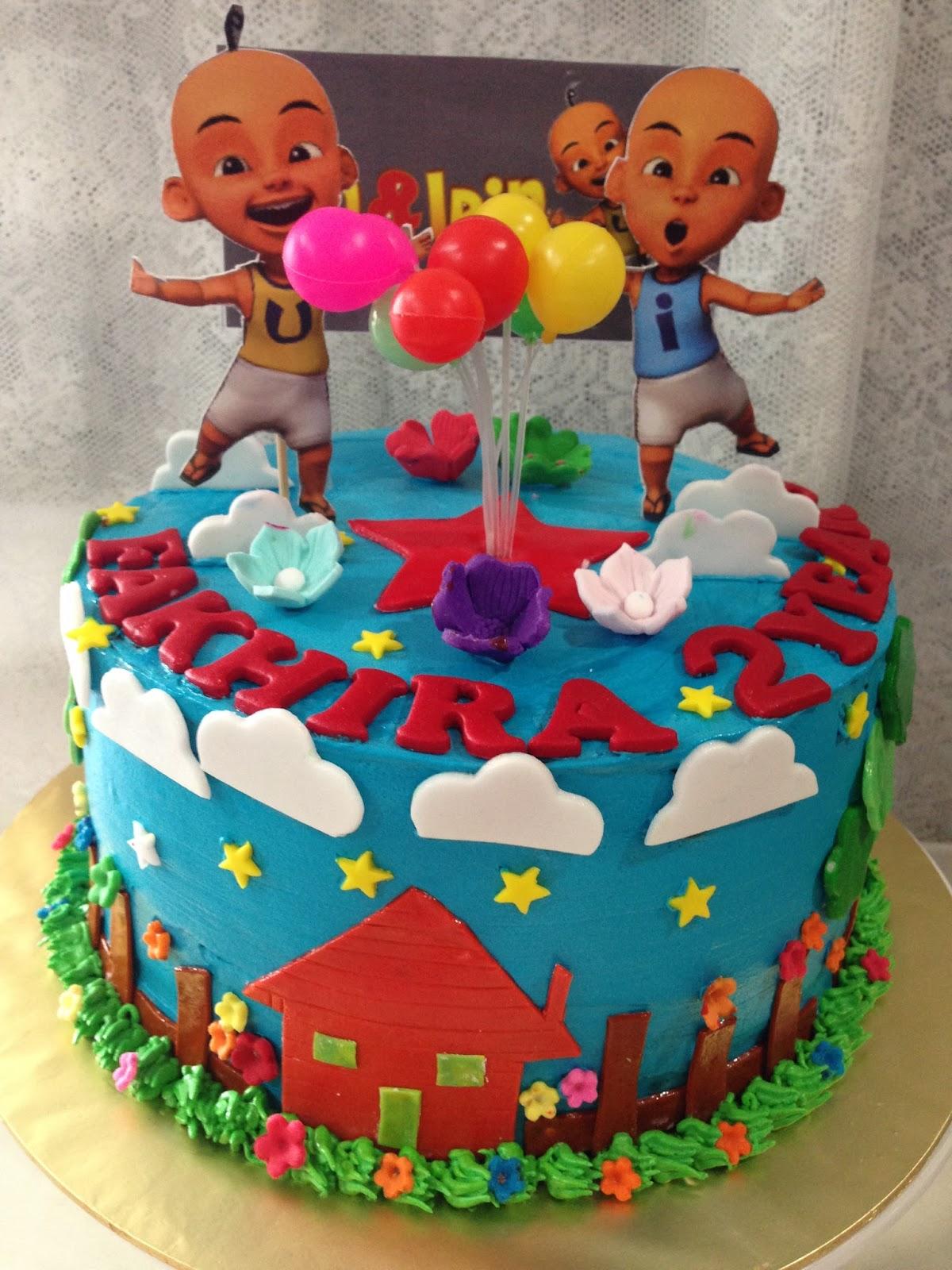 ninie cakes house Upin Ipin Theme Cake