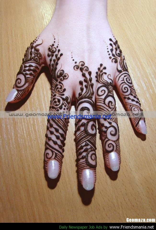 Mehndi Design New : Picture porter new mehndi designs henna patterns