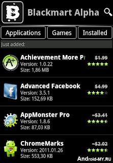 BlackMart Alpha v0.49.92 For Android