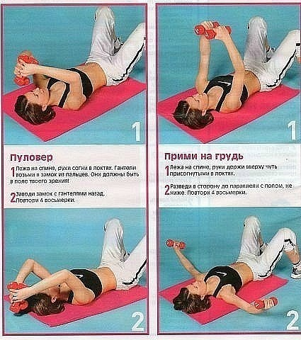 Упражнения для увеличения рук в домашних условиях