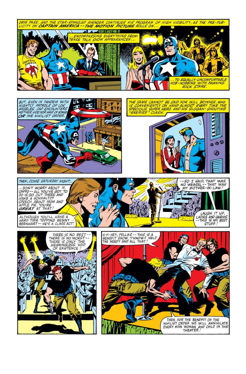 Captain America (1968) Issue #262 #177 - English 10