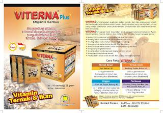 VITERNA Plus Vitamin Ternak Organik