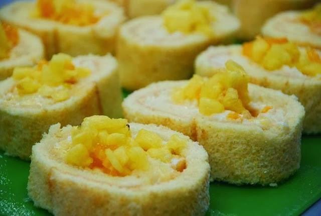 Ananaslı Rulo Pasta Tarifi Yapımı