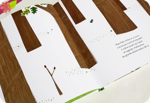 Petit-arbre veut grandirde Nancy Guilbert et Coralie Saudo - éditions Circonflexe
