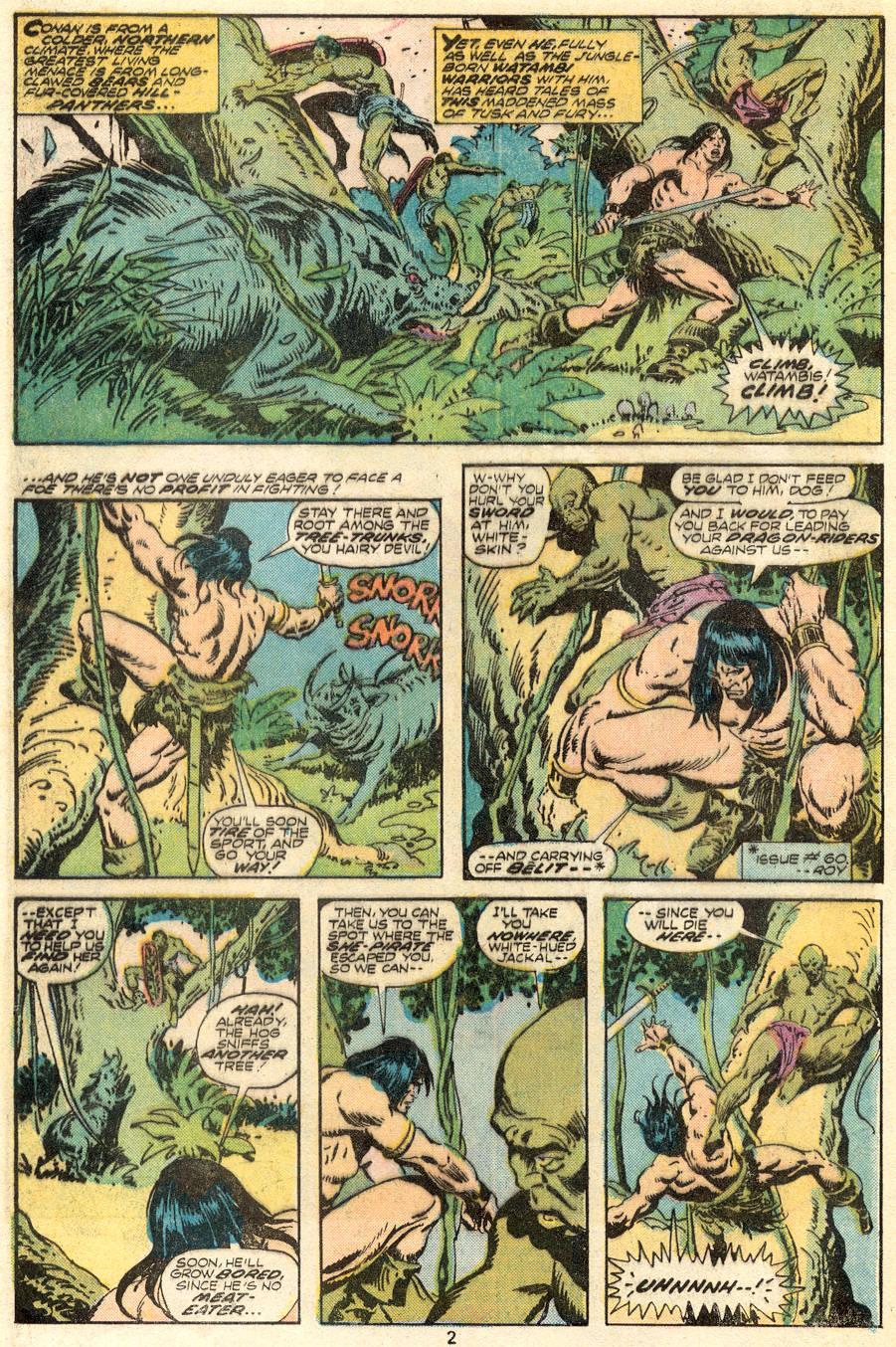 Conan the Barbarian (1970) Issue #62 #74 - English 3
