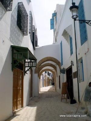 Rue du Pasha, Medina Tunez