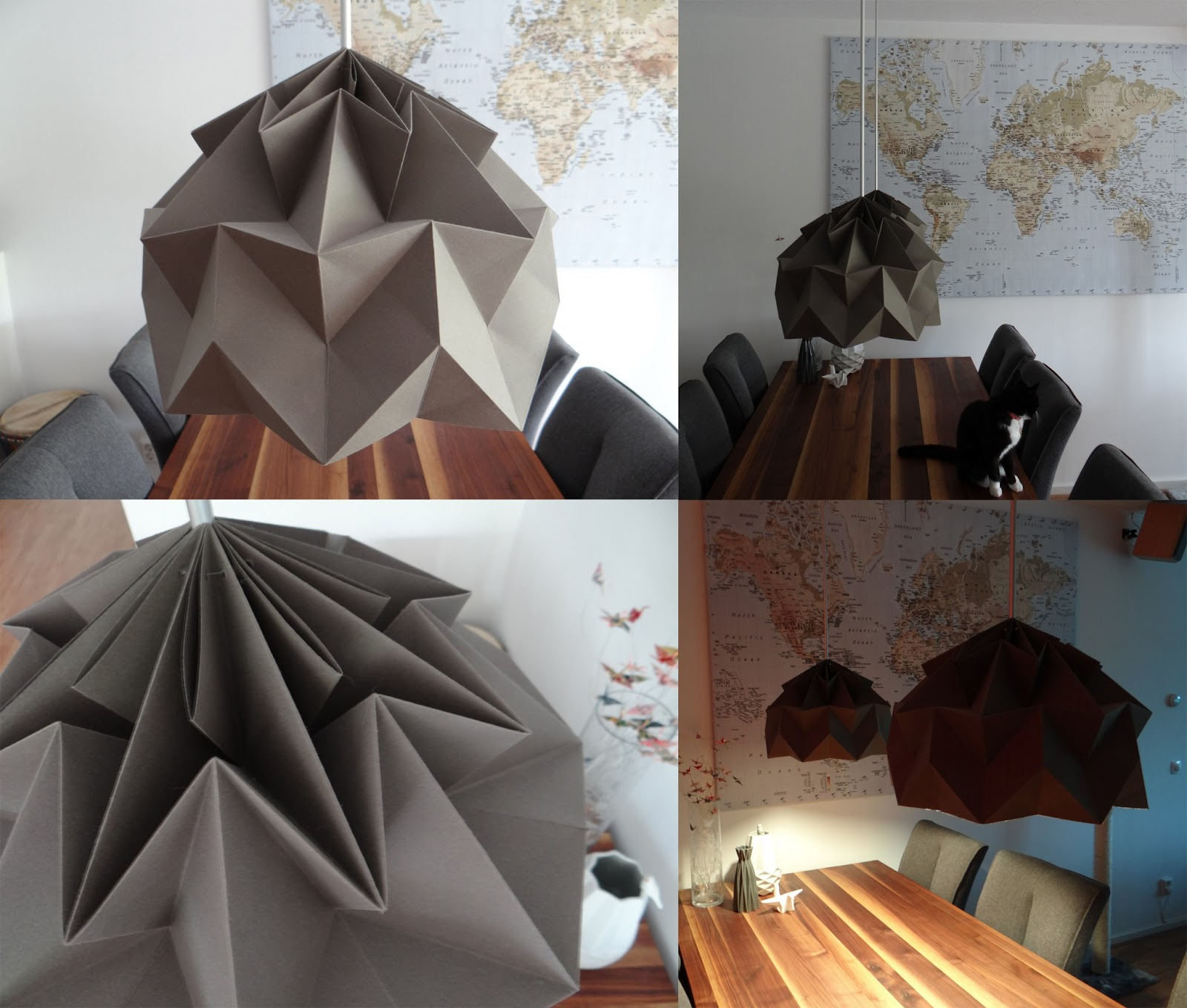 Creating My Own Lampshades Based On The Origami Magic Ball