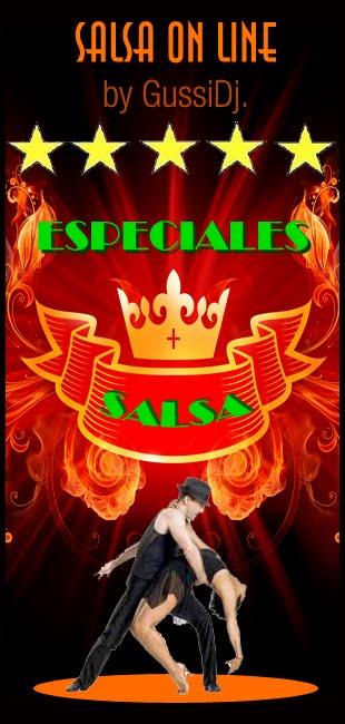 LUNES: ESPECIALES SALSA