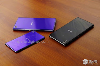 Appears actual picture Xperia Z1 Mini, amazing thin