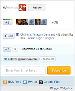 Mashable Sharing Widget For Blogger