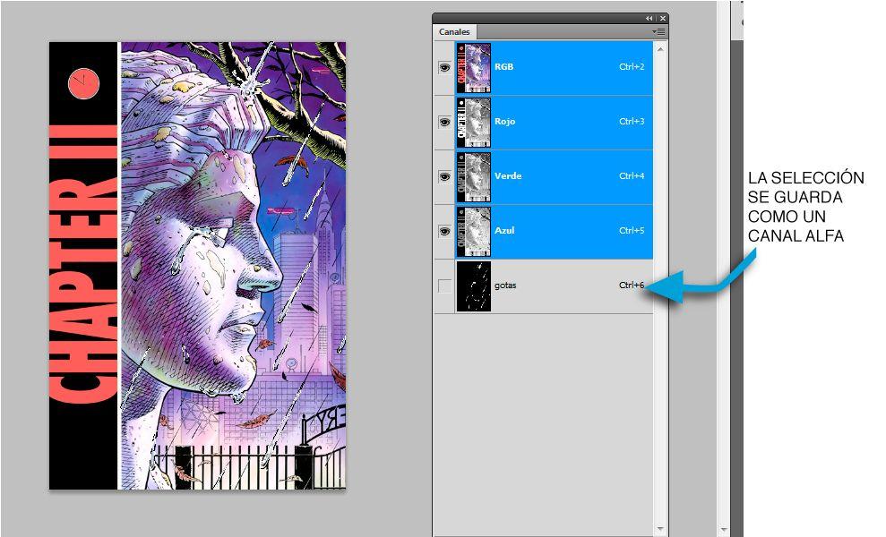 selección con canales alfa en photoshop | Lc tutorial | Tutoriales ...