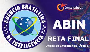 Projeto Reta Final - Abin (Oficial de Inteligência: Área 1)
