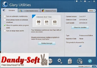 GlarySoft Glary Utilities Pro 4.2.0.74 Full Version