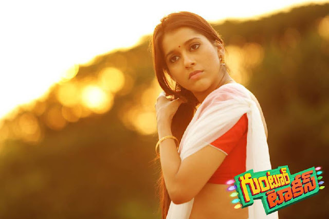Rashmi Gautam Stills From Guntur Talkies Movie