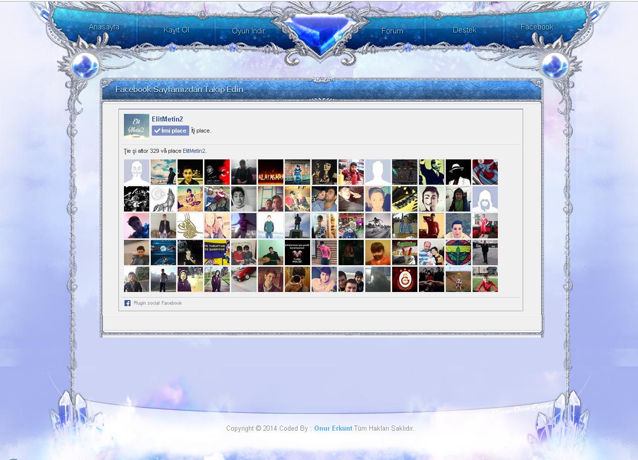 Nisanım Adlı Metin2 Giriş İndexi - Metin2 Pvp Giriş Sayfası