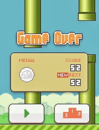 Tips Cara Asik Main Flappy Bird