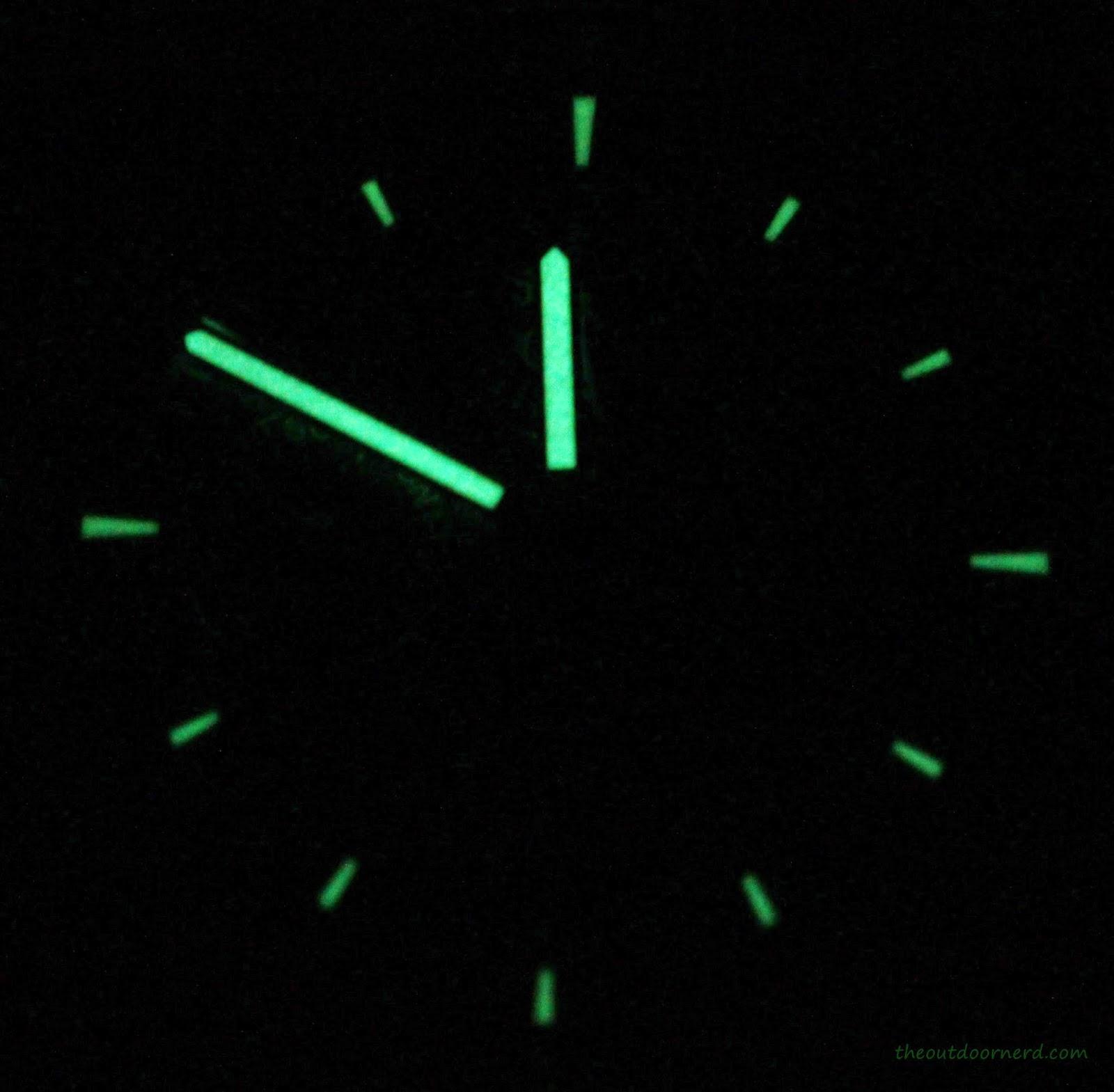 Casio Men's EF305-1AV Edifice Glow In The Dark